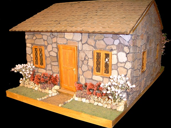 Dollhouse Number 2 Stone Cabin