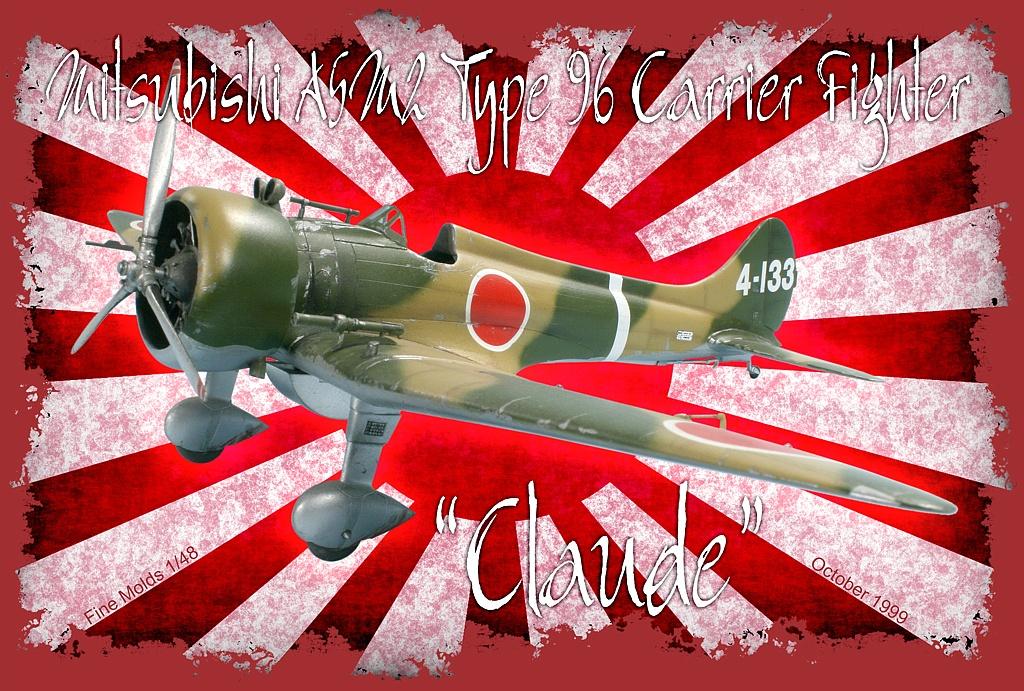 Mitsubishi A5m2 Type 96 Quot Claude Quot