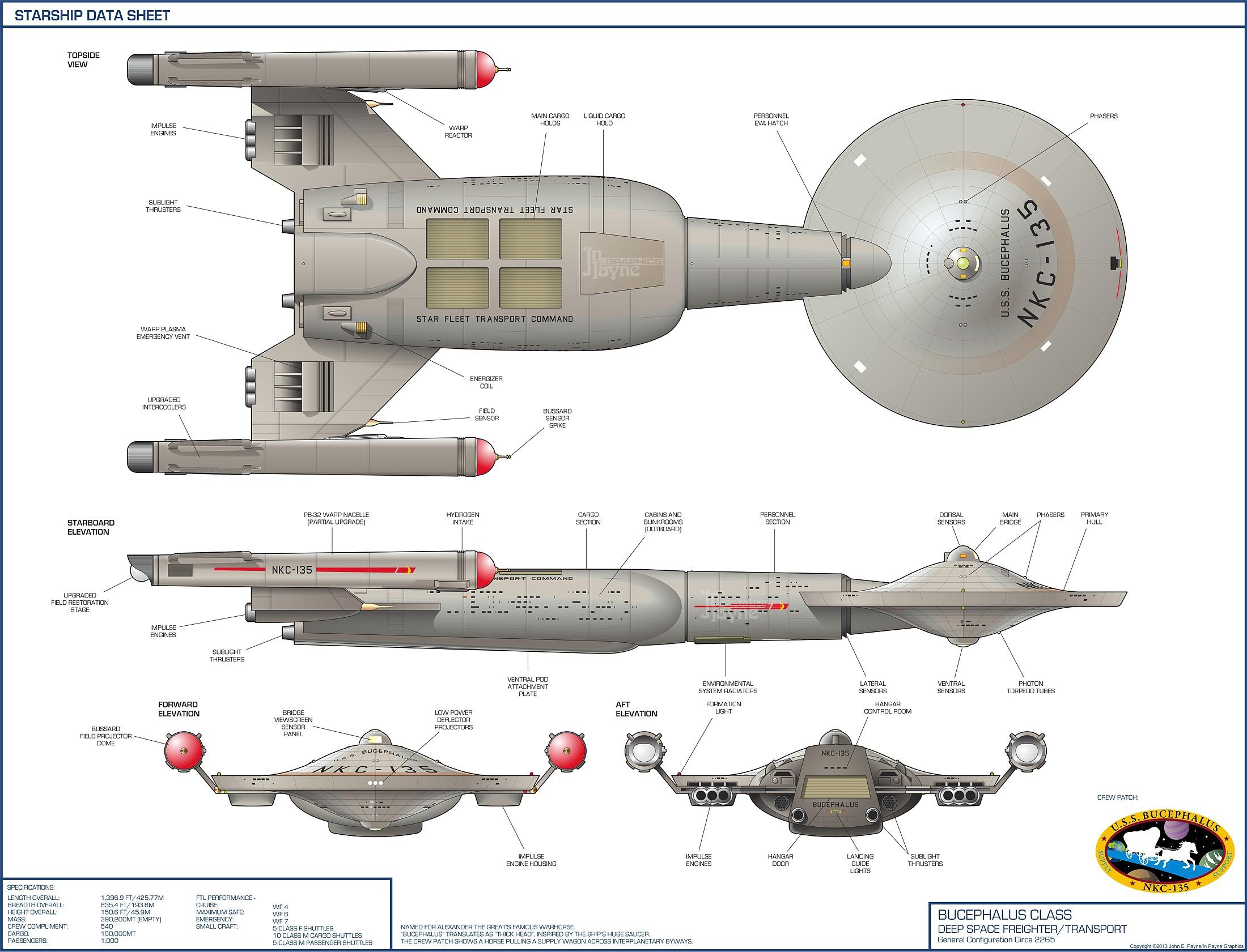 Starship Schematic Database - Star Trek